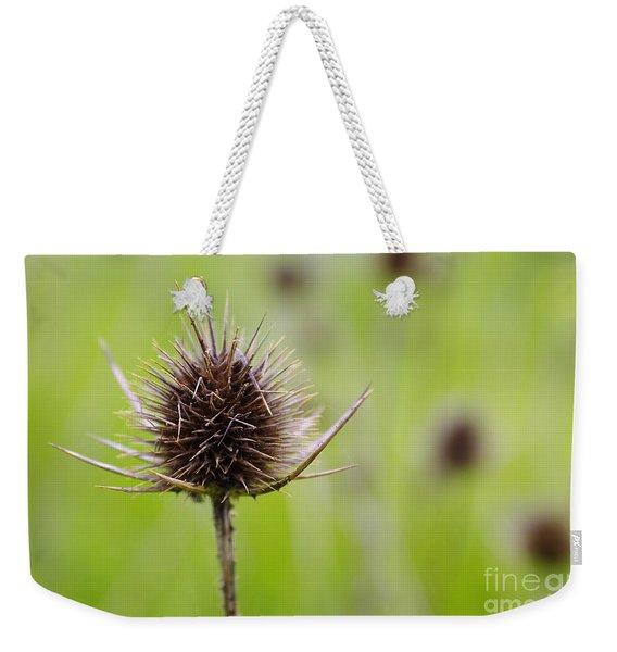 Dried Thistle Weekender Tote Bag