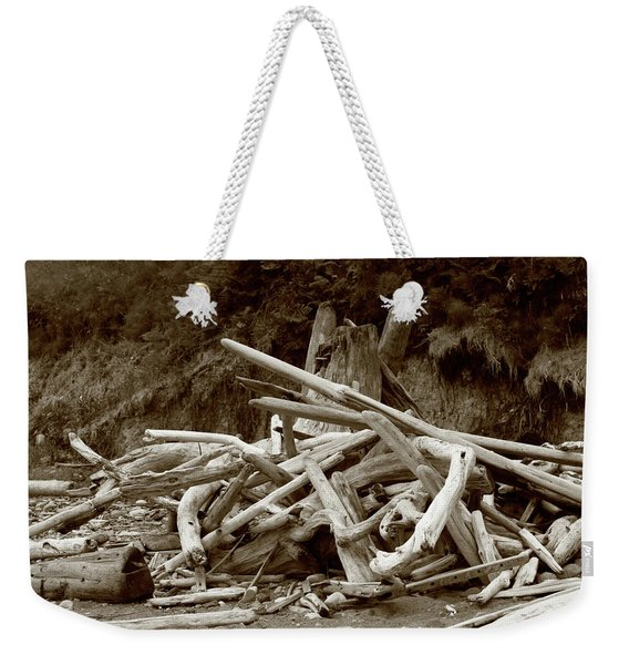 Driftwood Pile San Juan Weekender Tote Bag