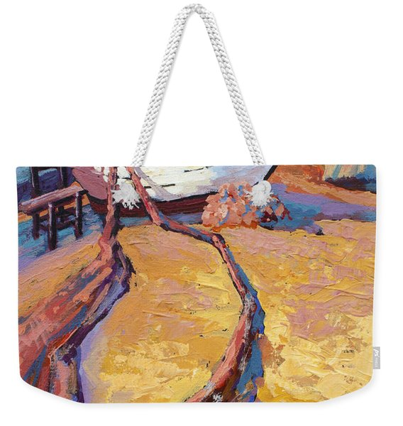 Drying The Nets Weekender Tote Bag