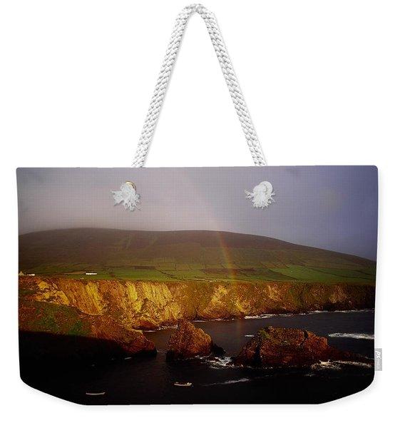 Dunquin Harbour, Dingle Peninsula,co Weekender Tote Bag