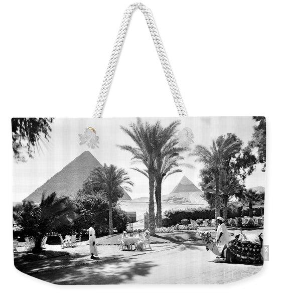 Egypt: Cairo Weekender Tote Bag