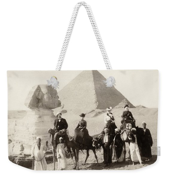 Egypt: Tourists Weekender Tote Bag