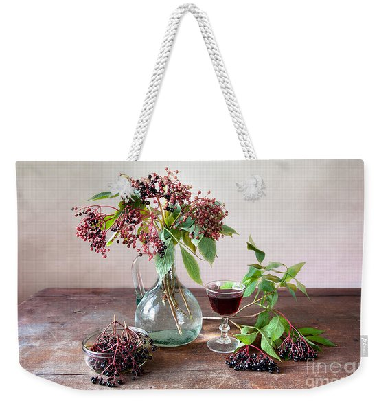 Elderberries 03 Weekender Tote Bag