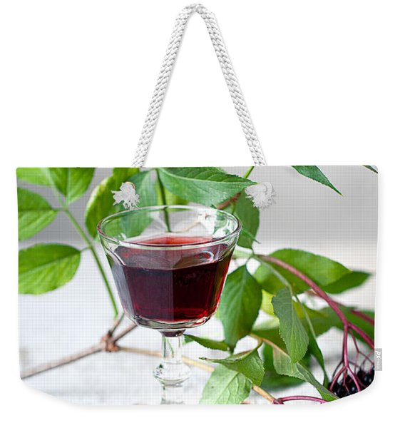 Elderberries 05 Weekender Tote Bag