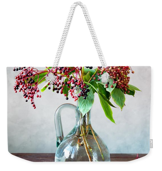 Elderberries 06 Weekender Tote Bag