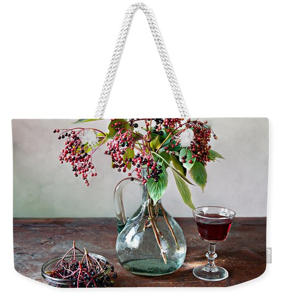 Elderberries 08 Weekender Tote Bag