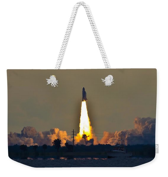 Endeavor Blast Off Weekender Tote Bag
