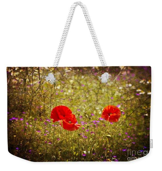 English Summer Meadow. Weekender Tote Bag