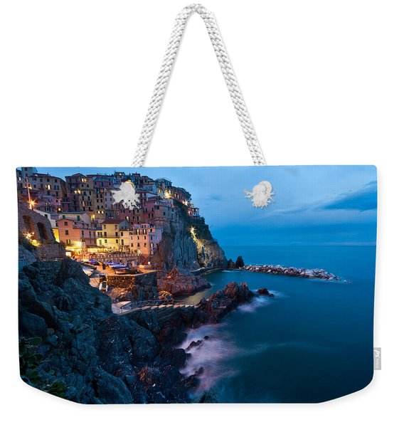 Evening In Manarola Weekender Tote Bag