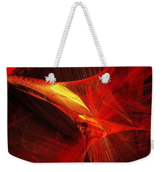 Explosive Dance Weekender Tote Bag