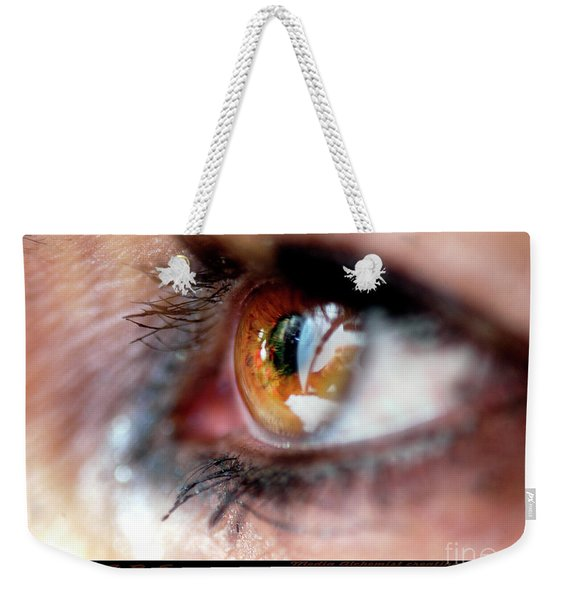 Eye Don't Know Weekender Tote Bag