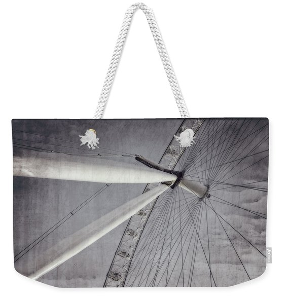 Eye On London Weekender Tote Bag