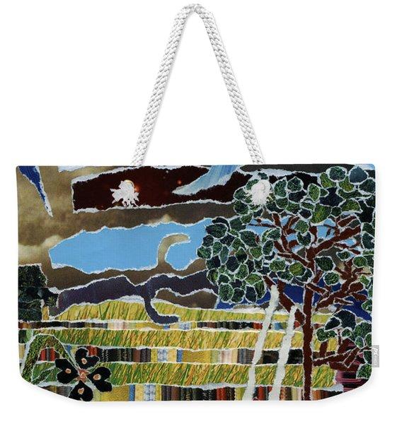 Fabric Of Life Weekender Tote Bag