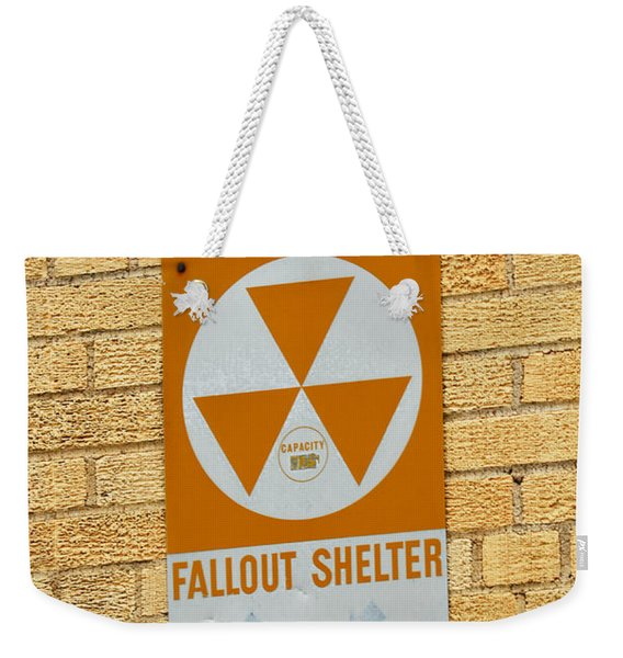 Fallout Shelter Weekender Tote Bag