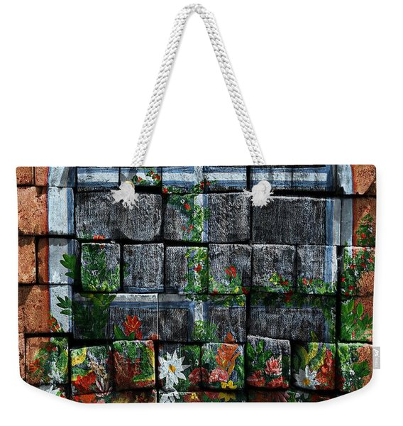 False Windowbox Weekender Tote Bag