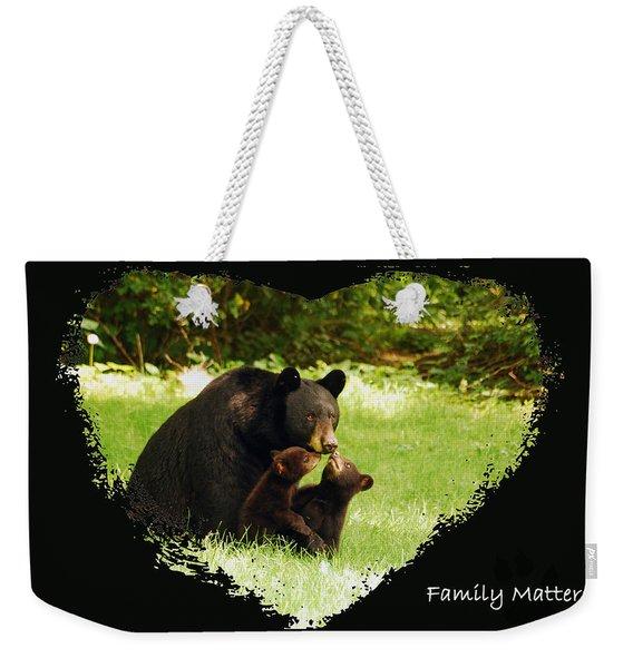 Family Matters Weekender Tote Bag