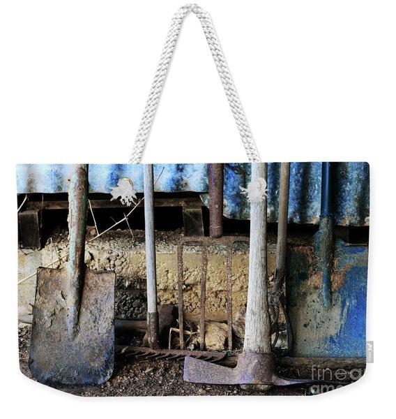Farm Tool Weekender Tote Bag