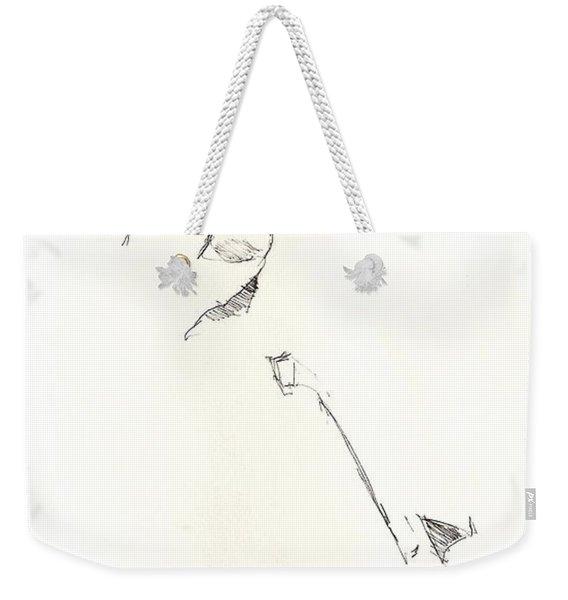 Fashion 1965 Three Weekender Tote Bag