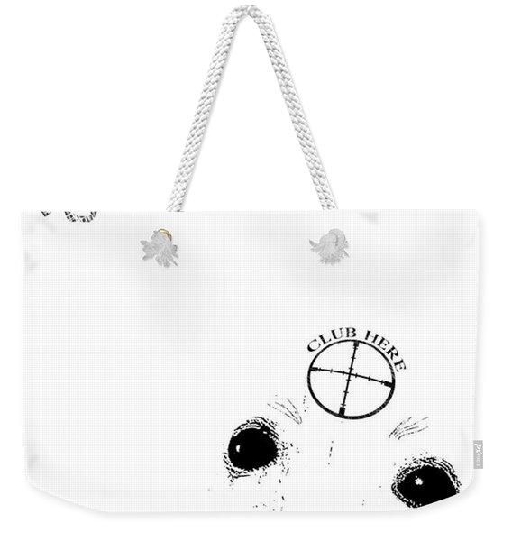 Fashion Victim Weekender Tote Bag