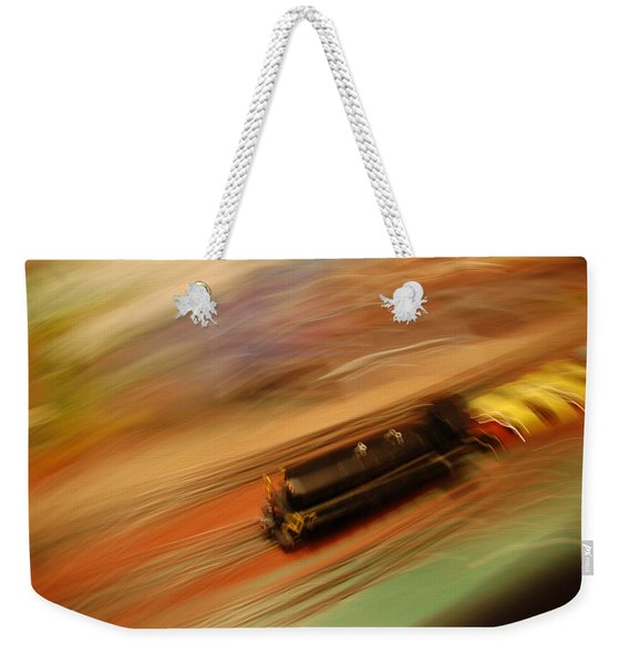 Fast Train Set Weekender Tote Bag