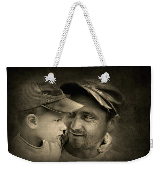 Father Figure Weekender Tote Bag