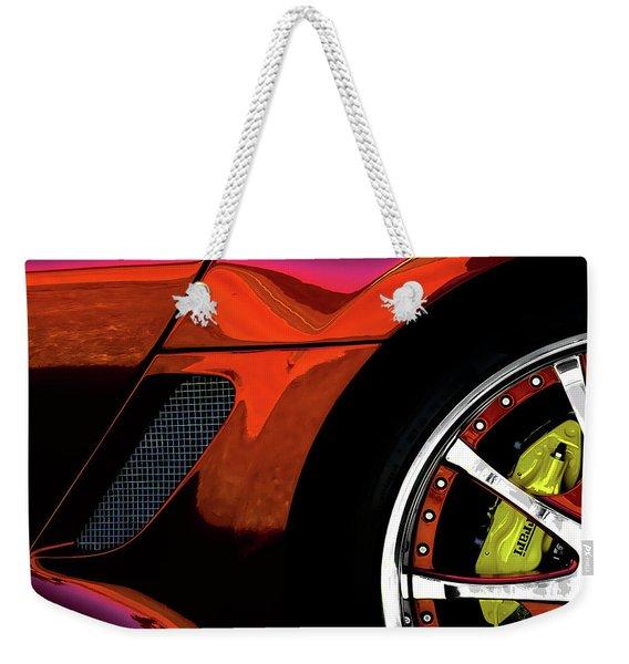 Ferrari Wheel Detail Weekender Tote Bag