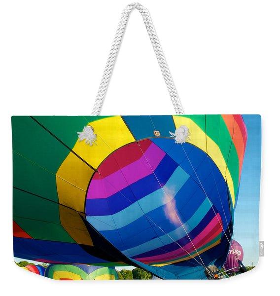 Filler Up Weekender Tote Bag