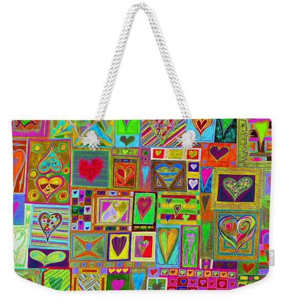 find U'r Love found    v15 Weekender Tote Bag