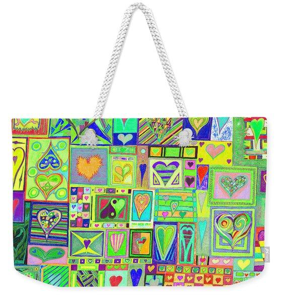 find U'r Love found    v18 Weekender Tote Bag