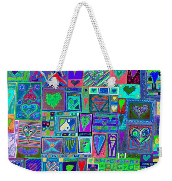 find U'r Love found    v13 Weekender Tote Bag