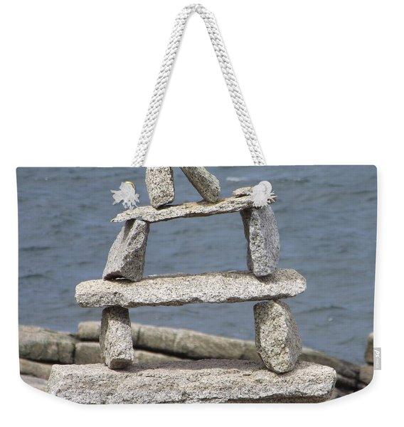 Finding Balance Weekender Tote Bag
