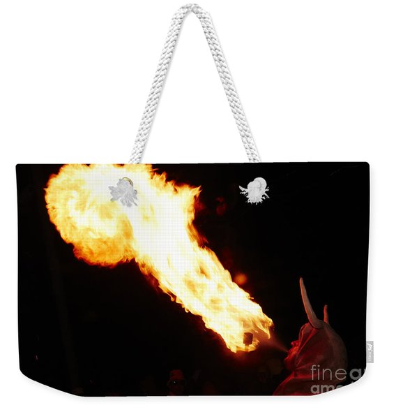 Fire Axe Weekender Tote Bag