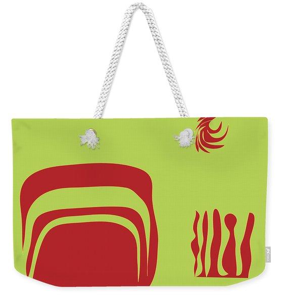 Fire Spirit Cave Weekender Tote Bag