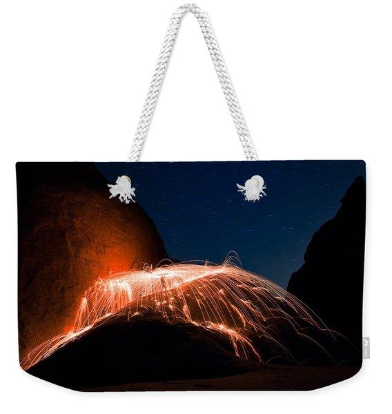 Firefall Weekender Tote Bag
