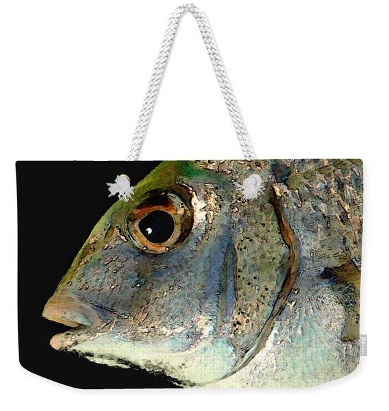 Fisheye Weekender Tote Bag