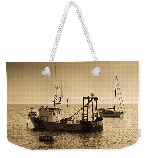 Fishing Boats Leigh On Sea Weekender Tote Bag
