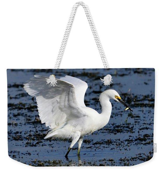 Fishing Dance Weekender Tote Bag