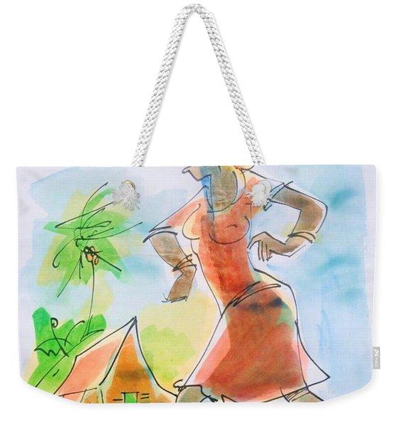 Fit Gal Weekender Tote Bag