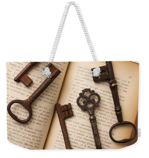 Five Old Keys Weekender Tote Bag