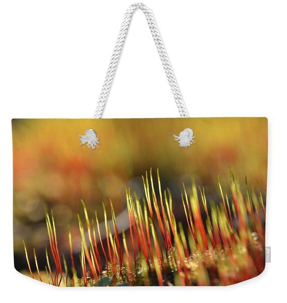 Flaming Moss Weekender Tote Bag
