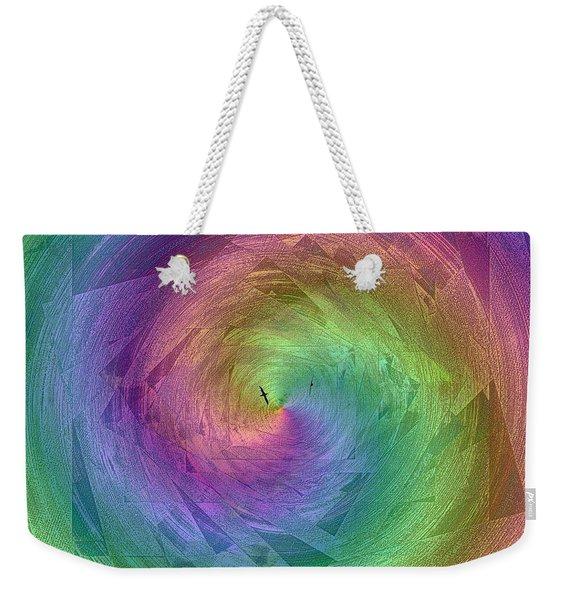 Flight Down The  Rainbow River Weekender Tote Bag