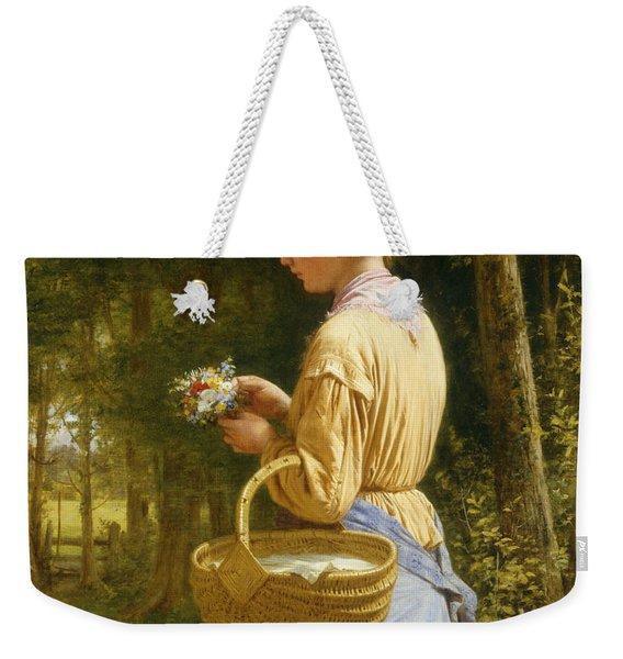 Flowers From The Woods Weekender Tote Bag