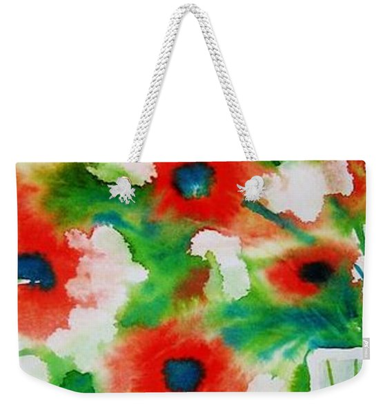 Flowers In A Glass Weekender Tote Bag