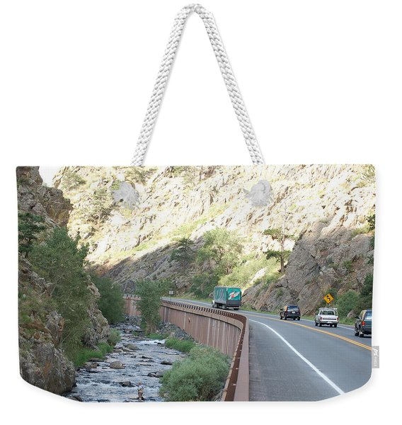 Fly Fishing In Colorado Weekender Tote Bag