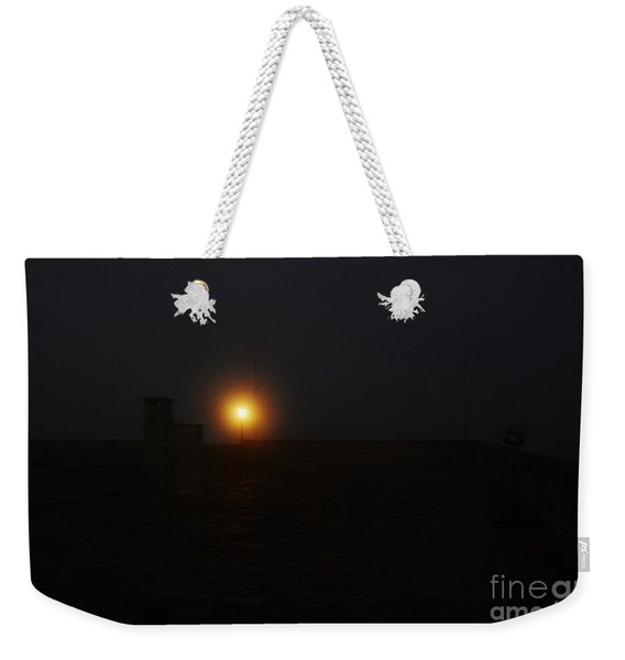 Fog In San Salvador Weekender Tote Bag