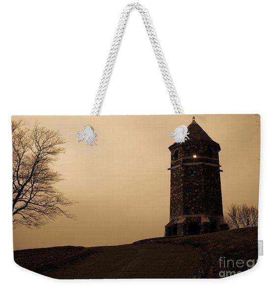 Fox Hill Tower Weekender Tote Bag