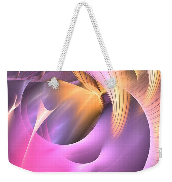 Cornu Copiae - Abstract Art Weekender Tote Bag