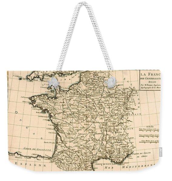France By Regions Weekender Tote Bag