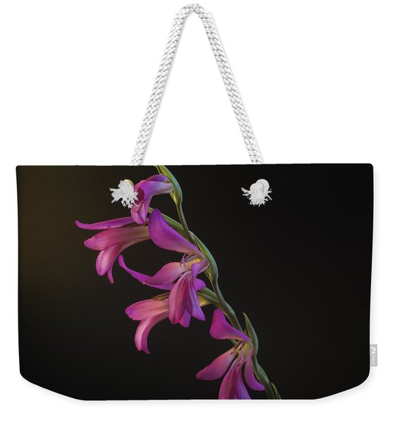 Freesia In The Spotlight Weekender Tote Bag