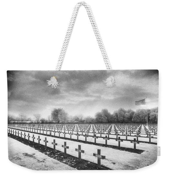 French Cemetery Weekender Tote Bag